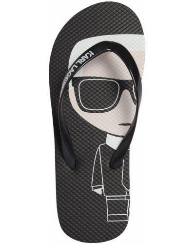 Półbuty z logo Karl Lagerfeld