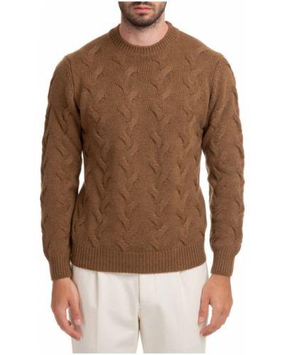 Brązowy sweter Lardini