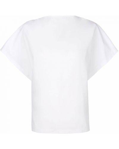Хлопковая футболка - белая Chalayan