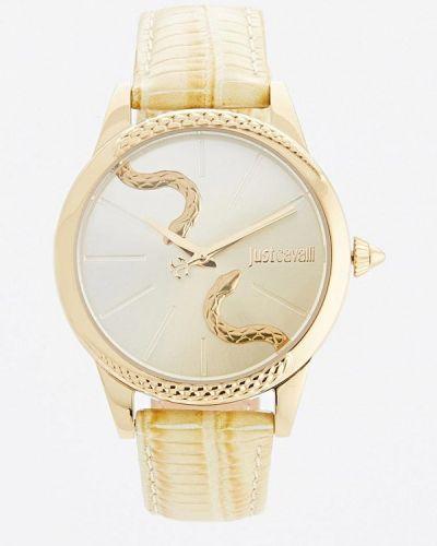 Желтые кварцевые часы Just Cavalli