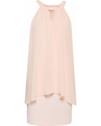 Платье с американской проймой - розовое Bonprix