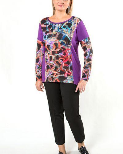Блузка асимметричная из вискозы Virgi Style