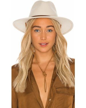 Biały kapelusz wełniany Brixton