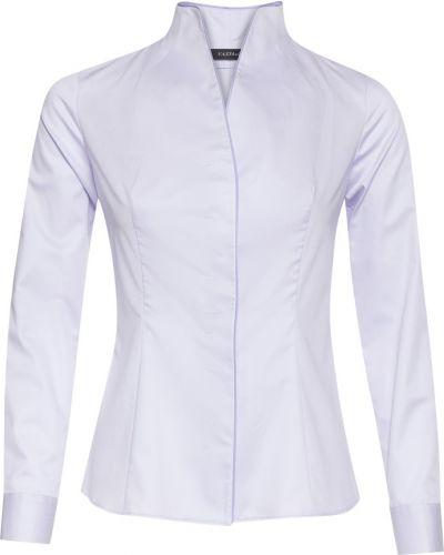 Блузка с длинным рукавом приталенная сиреневый Vassa&co