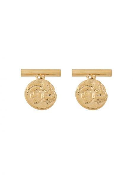 Spinka do mankietów ze srebra ze złota Victoria Strigini