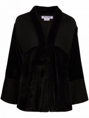 Куртка из искусственного меха - черная Comme Des Garçons Comme Des Garçons