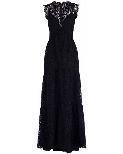 Вечернее платье с цветочным принтом с V-образным вырезом Ermanno Scervino