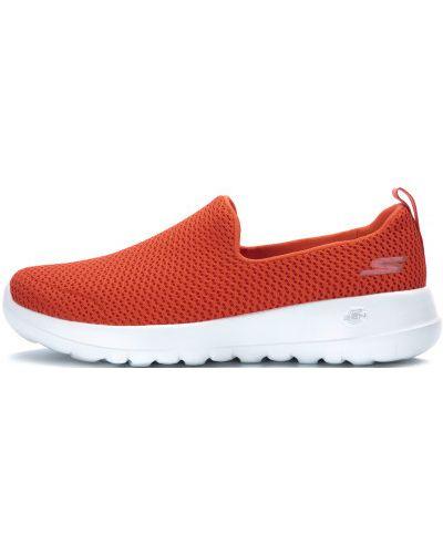 Слипоны спортивные оранжевый Skechers