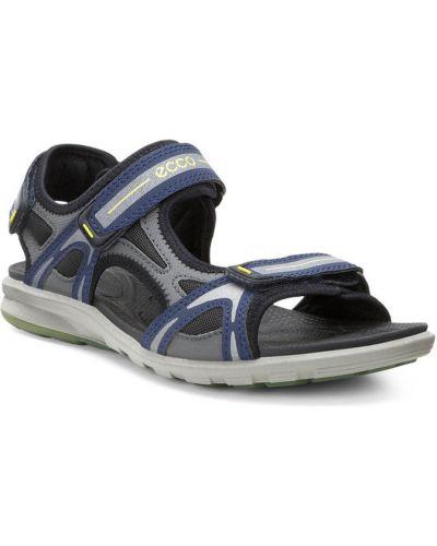 Спортивные сандалии на липучках кожаные Ecco