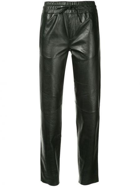 Хлопковые спортивные брюки - черные Sylvie Schimmel