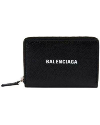 Czarny portfel Balenciaga