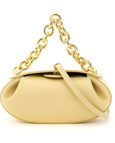 Żółta torebka Yuzefi