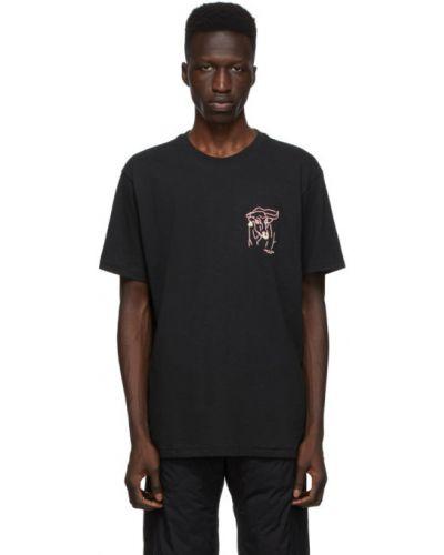 Bawełna z rękawami czarny koszula z haftem Rag & Bone