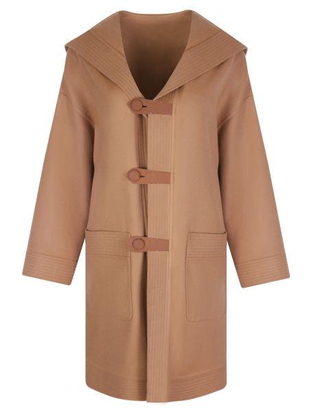 Кашемировое пальто - бежевое Loro Piana