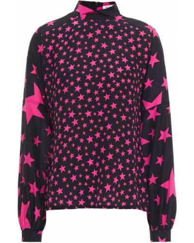 Шелковая блузка - черная Bella Freud