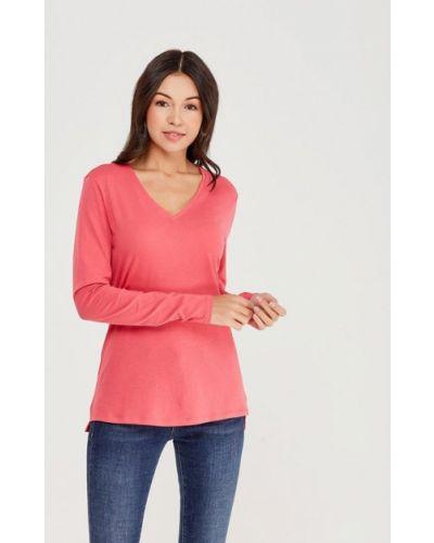 Розовый лонгслив United Colors Of Benetton