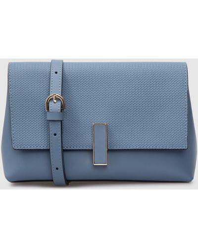 Кожаная сумка - синяя Gianni Notaro