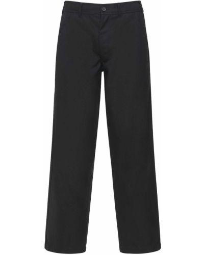 Czarne spodnie wełniane Comme Des Garcons Shirt