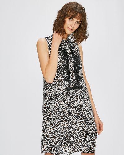 Платье мини ажурное прямое Sh