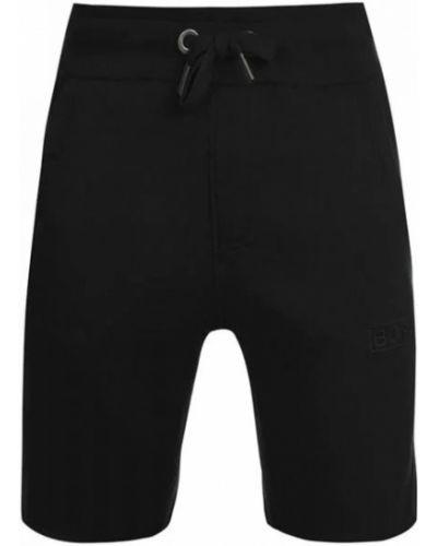 Флисовые шорты - черные Bjorn Borg