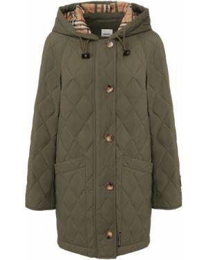 Куртка зеленая с подкладкой Burberry