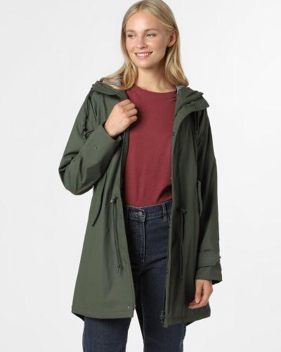 Zielona kurtka przeciwdeszczowa Derbe