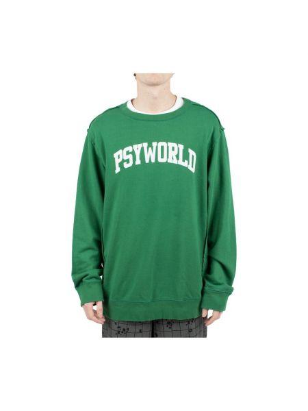 Zielony sweter Undercover