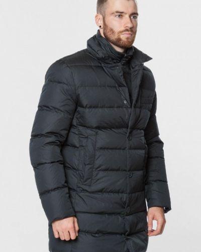 Длинная куртка - синяя Madzerini