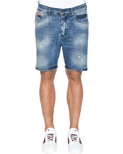 Синие шорты Frankie Morello