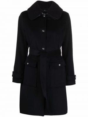 Кашемировое пальто - синее Lauren Ralph Lauren