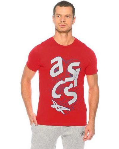 Спортивная футболка с принтом Asics