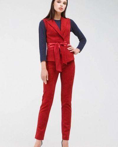 Брючный костюм бордовый красный Krismarin