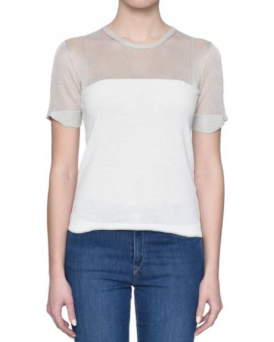 Белая футболка Ballantyne