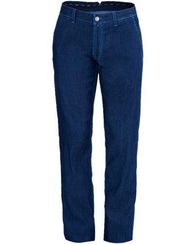 Прямые джинсы с нашивками с карманами Stefano Ricci