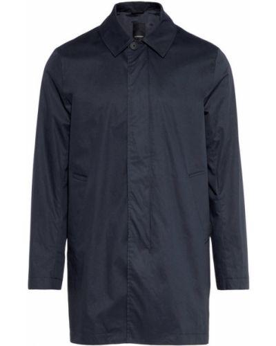 Płaszcz bawełniany - niebieski J.lindeberg