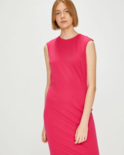 Платье мини на молнии трикотажное Answear