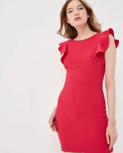 Платье футляр розовое Lime