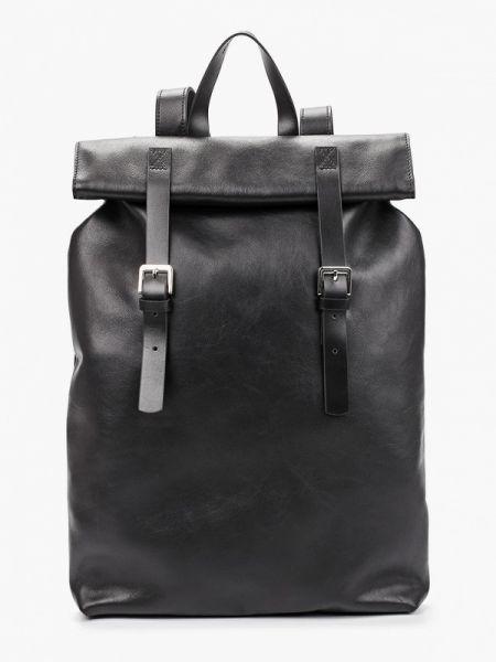 Черный рюкзак из натуральной кожи Asya Malbershtein