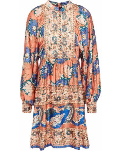 Sukienka zapinane na guziki Antik Batik