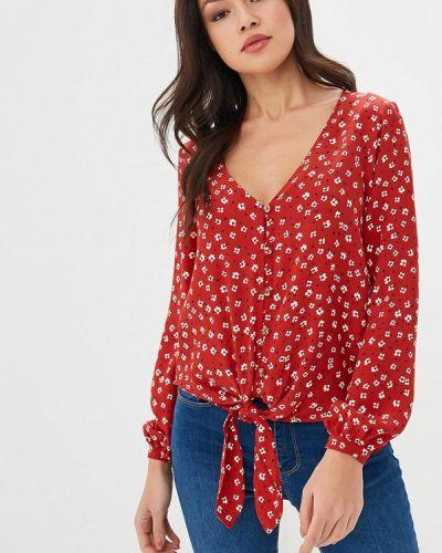 Красная блузка с бантом Springfield