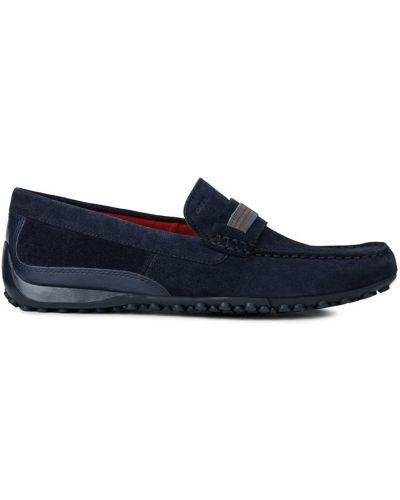Туфли замшевые текстильные Geox