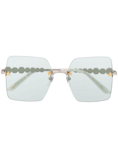Okulary przeciwsłoneczne dla wzroku z perłami plac Gucci Eyewear