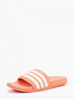 Сланцы коралловый красный Adidas