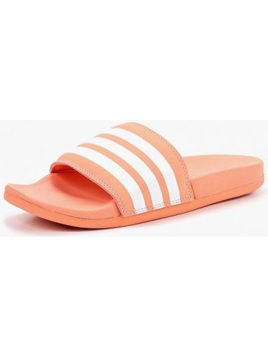 Сланцы коралловый Adidas