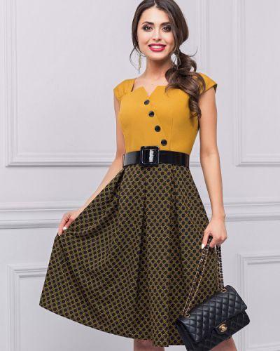 Летнее платье в клетку платье-сарафан Charutti
