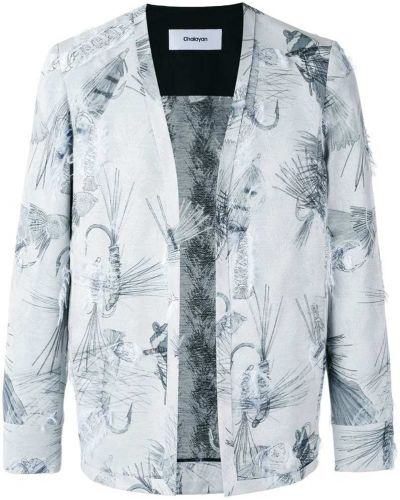 Хлопковый пиджак - серый Chalayan