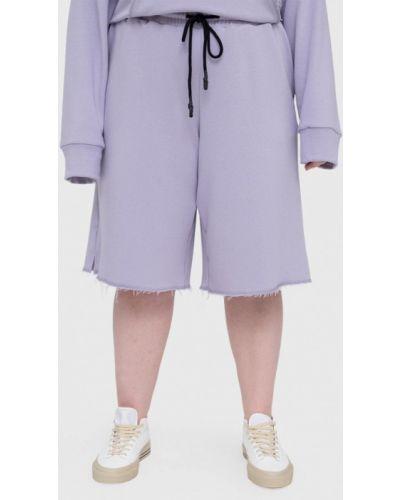 Спортивные шорты - фиолетовые Lessismore