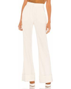 Spodnie z kieszeniami białe Smythe