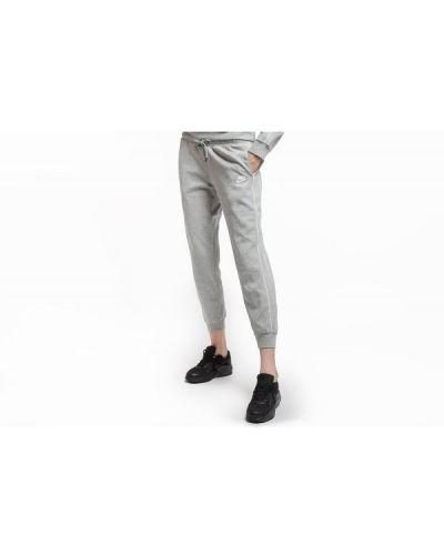 Szare spodnie dresowe bawełniane Nike