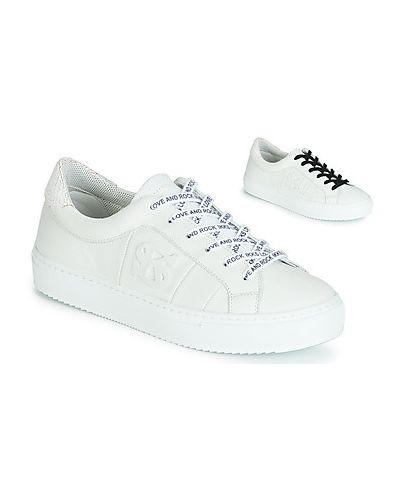 Białe sneakersy Ikks